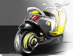 Der MINI Scooter E Concept