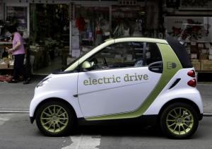 Zehn Smart electric drive stehen zur Verfügung (Bild: Daimler)