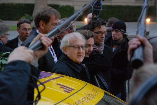 In Berlin wurde der A2 von Bundeswirtschaftsminister Rainer Brüderle empfangen (Foto: Rudschies)