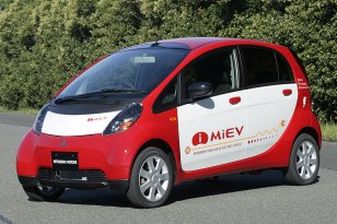 Der i-MiEV von Mitsubishi