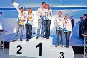 Die Siegerteams der Auris Hybrid Eco Challenge