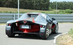 Augenschmaus für Design-Fans: der Prototyp Venturi Volage (Foto: Michelin)