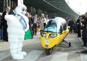 SStart der Intercity Rallye bei der Challenge Bibendum in Berlin (Foto: Michelin)