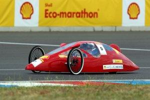 Shell Eco-marathon:Test-Prototyp für die Presse