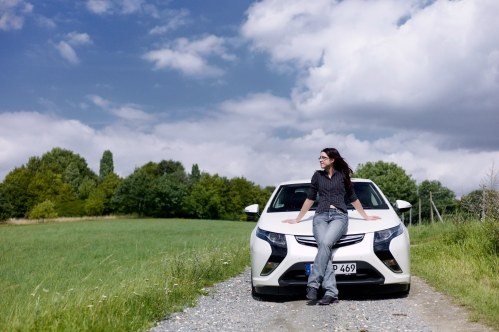 Jenny Eberhardt begeistert besonders die Geräuschlosigkeit im Elektromodus.