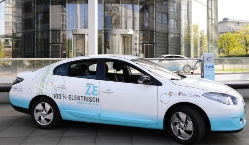 Der Renault Fluence fährt rein elektrisch