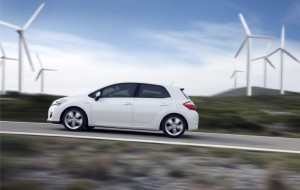 Der Toyota Auris Hybrid. Foto: Toyota