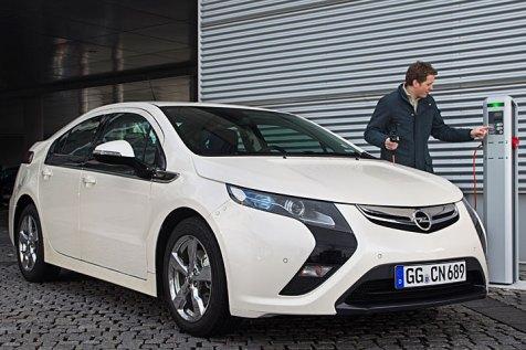 Baugleich mit dem Chevrolet Volt: Der Opel Ampera