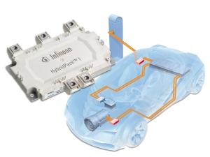 Im E-Auto fließt Strom von bis zu 800 Ampere. Moderne Halbleiter halten das aus. Foto: Infineon