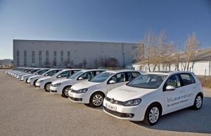 Der E-Golf, das zweite Elektroauto von VW, wird zur Zeit in Flotten erprobt. Foto: Volkswagen