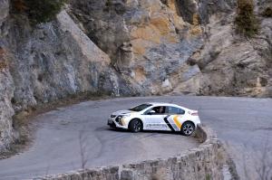 In den französischen Seealpen unterwegs: Opel Ampera
