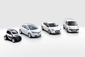 Renault wird 2012 vier E-Modelle anbieten. Kangoo und Fluence sind schon heute zu haben. Foto: Renault