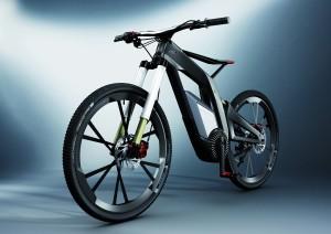 Audi e-Bike: 26 Zoll große Räder aus CFK (Foto: Audi)