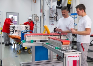 Projekthaus Hochvolt-Batterie (Foto: Audi)