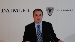 Elon Musk, Gründer und Mehrheitseigner der Firma Tesla, arbeitet auch mit Mercedes zusammen (Foto: Rudschies)