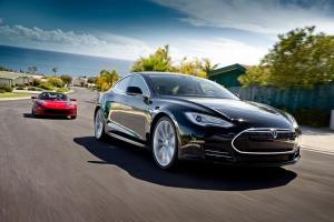Tesla Model S: Deutsche Kunden fiebern der Auslieferung entgegen (Foto: Tesla)