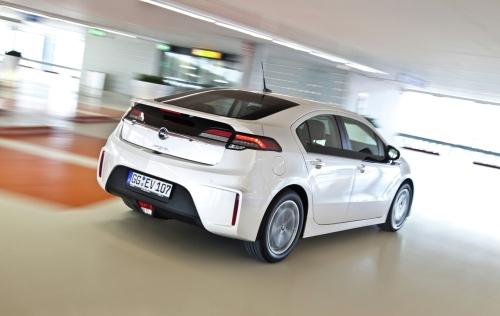 Der Chevrolet Volt ist baugleich mit dem Opel Ampera (im BIld).