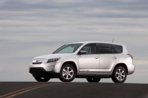 Toyota RAV4 EV: mit E-Motor von Tesla
