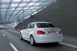 Mit dem BMW active e zum Flughafen: Gebt mir einen Range Extender! Foto: BMW