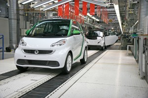 Produktionsstart in Hambach: Smart Fortwo electric drive