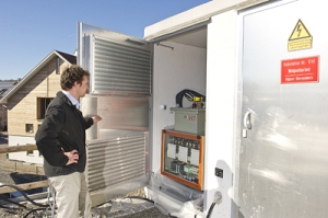 Ein regelbarer Trafo kann Spannungschwankungen im Netz ausgleichen. Foto: Siemens/Martin Hangen
