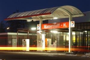 H2-Tankstelle in Berlin. Foto: CEP