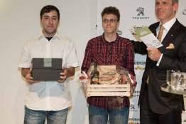 Die beiden 18-Jährigen Dominik Bauer und Clemes Rätze waren überrascht von ihrem Tagessieg.