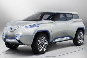 """Nissan stellt die Brennstoffzellen-Studie """"Terra"""" auf dem Pariser Autosalon vor"""