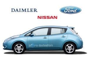 Daimler, Nissan und Ford forschen künftig gemeinsam