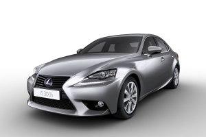 Ab Juni 2013 mit Vollhybrid-Antrieb zu haben: Lexus ISi