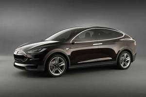 Teslas Model X - vom geplanten Volumenmodell gibt es noch keine Bilder