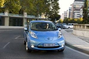 Kompaktes Elektroauto mit vier Türen: Nissan Leaf