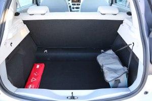 Der Kofferraum des Renault Zoe.
