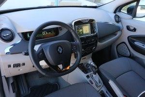 So sieht der Innenraum des Renault Zoe aus: Aufgeräumt und minimalistisch.