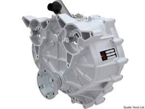Vocis eDCT: Ein Doppelkupplungsgetriebe mit vier Gängen extra für E-Autos.
