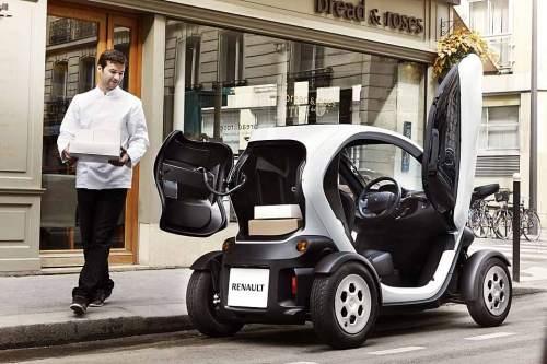 Der Renault Twizy Cargo richtet vorrangig an Liefer-, Kurier-, Pflege- und Reperaturdienste.