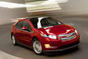 In den USA momentan auf der Überholspur: Der Chevrolet Volt.
