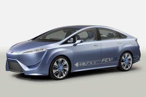 Toyotas Studie FCV-R