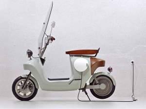 Elektro-Scooter aus nachwachsenden Rohstoffen: Van.Eko Be.e