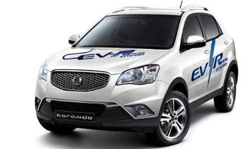 Elektro-Debüt für SsangYong: Korando C EV-R