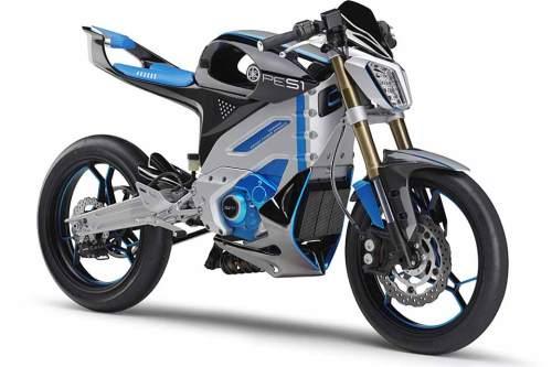 Fährt sich laut Yamaha wie ein herkömmliches Motorrad: E-Prototyp PES1