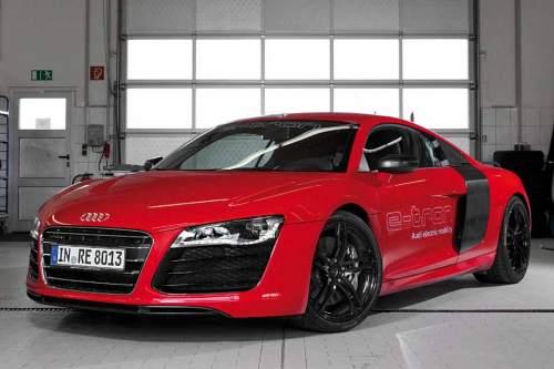 Elektrischer Hochleistungssportler: Audi R8 e-tron.