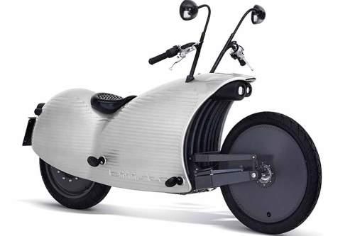 Der Cruiser von morgen? Das Elektromotorrad Johammer J1 fällt auf jeden Fall auf.