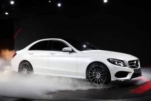 Die neue Mercedes C-Klasse: USA-Premiere bei der North American International Auto Show (NAIAS) in Detroit.