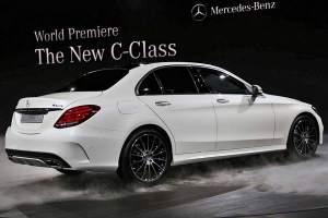 Sieht aus wie die S-Klasse in klein: die C-Klasse von Mercedes.