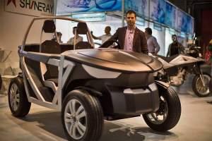 Open-Source-Projekt von OSVehicle: vorerst eine Rahmenkonstruktion mit Sitzen und Motor, bald schon ein vollwertiges Auto?