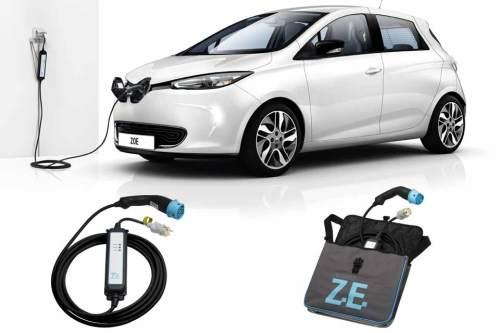 Renault Zoe: Jetzt auch über Haushaltssteckdose aufladbar.