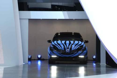 Noch mit Tarnfarben: Auf der Auto Show in Peking wird der Denza vorgestellt.