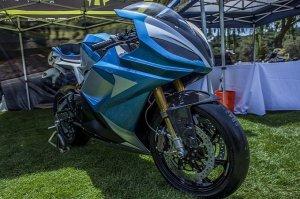 Die E-Bike LS-218 ist laut Hersteller das schnellste Motorrad der Welt.