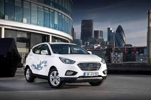 Hat deutlich mehr Reichweite als erwartet: Hyundai ix35 FCEV.